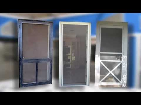 Napa, Yolo, CA, screen doors, sliding, swinging, retractable, security, storm, pet, door