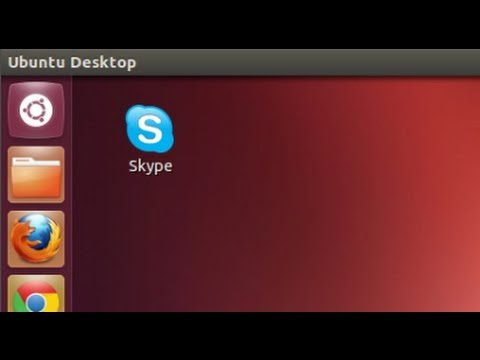 Ubuntu 12.04 - Creating Desktop Shortcut for Skype