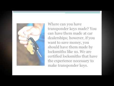 Transponder Key Brisbane