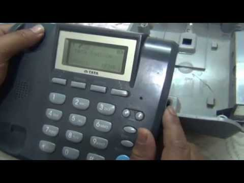 Easy Steps to change Battery in Tata Docomo Walky (Hindi) (1080p HD)