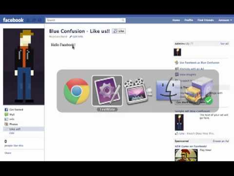 Create custom tabs on your Facebook page with iframes