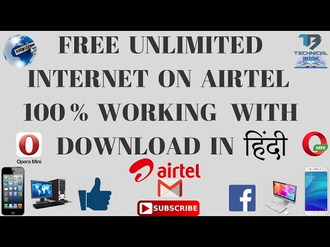 How To Get Free Unlimited Internet 2g/3g/4g/ On Airtel IN HINDI || TECHNICAL BOOK