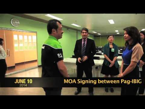 MOA signing between Pag-IBIG Fund and Kawasaki