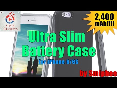 Best ever iPhone 6S battery case! - Phone Case Series Ep. 32