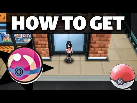HOW TO GET Heal Balls in Pokemon Sun and Moon