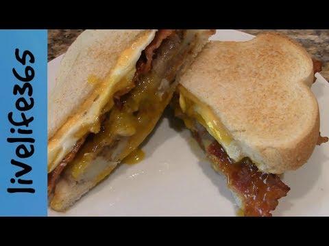 How to...Make a Killer Fried Egg, Bacon & Potato Sandwich