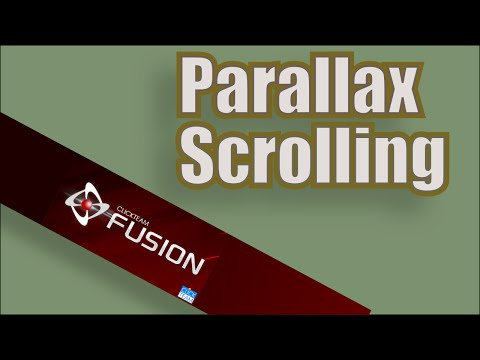 Parallax Scrolling Tutorial for Clickteam Fusion 2.5