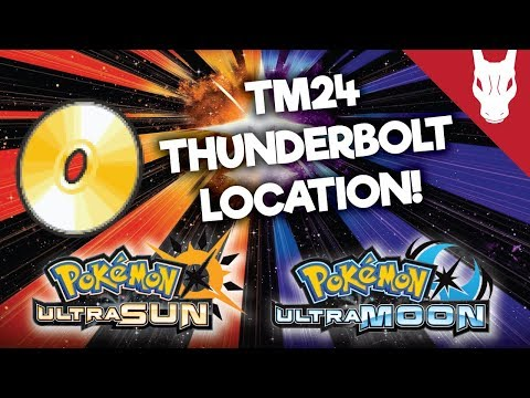 Where to Find TM 24 Thunderbolt in Ultra Sun and Ultra Moon