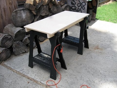 How to make a portable work bench for under $35
