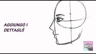 Download Tutorial: Disegnare un viso di profilo - proporzioni Video
