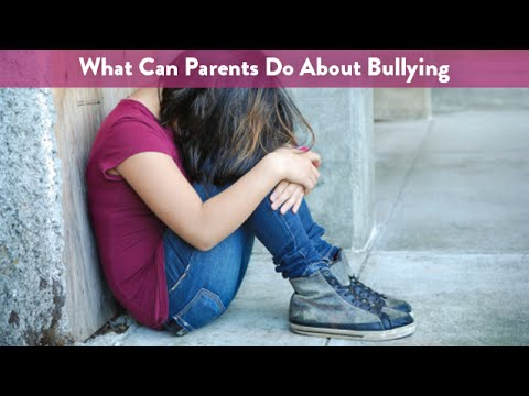 What Can Parents Do About Bullying? | CloudMom