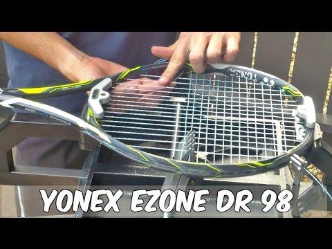 HOW TO STRING A TENNIS RACQUET - YONEX EZONE DR 98