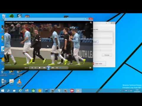 تحسين جودة الفيديوهات  ببرنامج Blurry Video Clearer