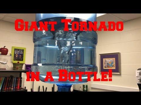 Giant Tornado in a Bottle!  (The MEGA-VORTEX)