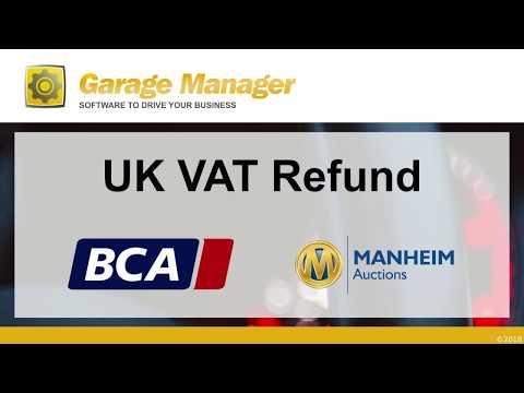 Garage Manager - UK VAT Refund