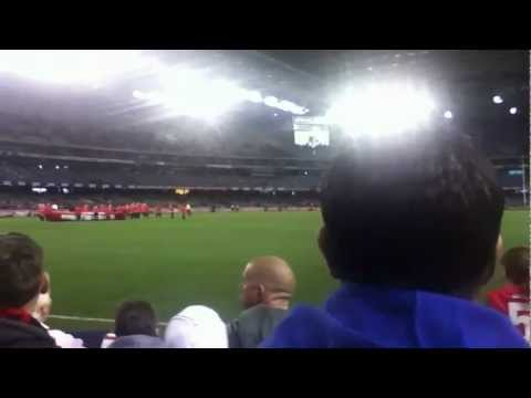 Sydney Swans at etihad stadium