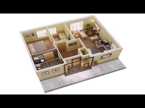 Simple 3 Bedrooms House Plans