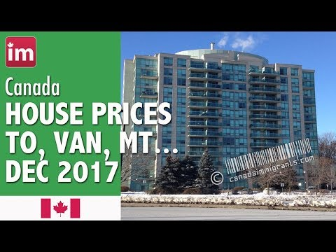House Prices in Canada (December 2017) | Cost of Living in Canada