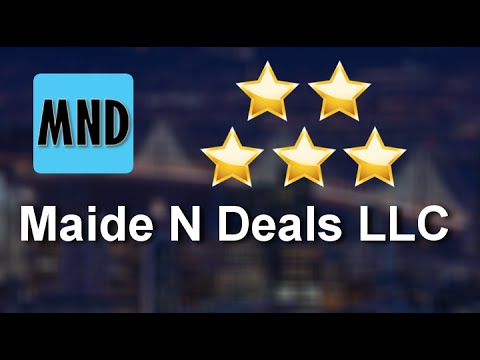 Maide N Deals LLC Katy Remarkable Five Star Review by Elana