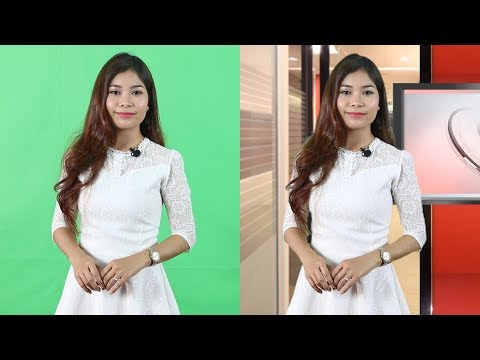 How to remove green screen background using Ultra Key in Adobe Premiere Pro