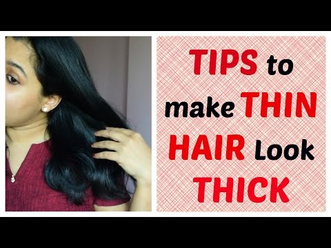 Tips &  Tricks to Make Thin Hair Look Thick | Indian Mom
