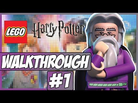 LEGO Harry Potter: Years 1-4 - Walkthrough - Episode 1 - The Journey Begins!