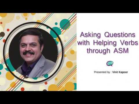 How to ask Questions in English through ASM