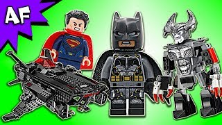 Lego DC Justice League Flying Fox: BATMOBILE AIRLIFT Attack 76087 Speed Build