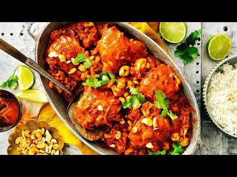 One-Pan Butter Chicken Recipe with Cauliflower