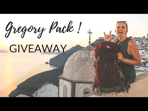 {CLOSED} GIVEAWAY with Gregory Packs! {CLOSED}