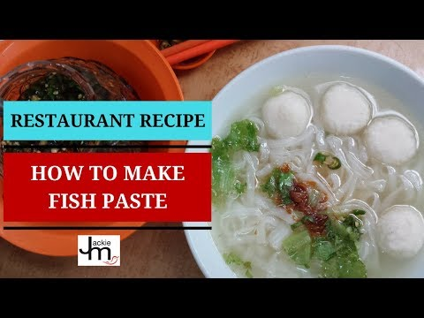 How to Make Fish Paste