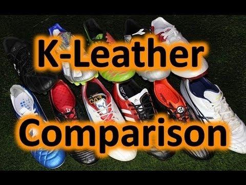 Modern Kangaroo Leather Soccer Shoes - Comparison