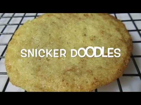 SNICKERDOODLES - How to make SNICKERDOODLE Cookies Recipe