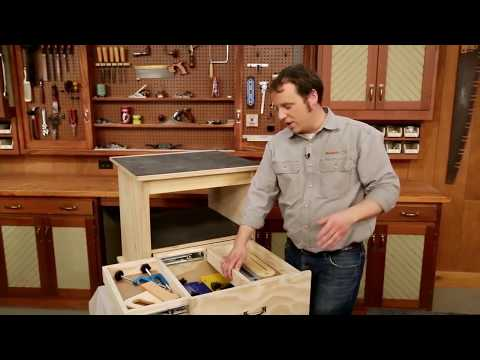Woodsmith Tips: Double Duty Drawers