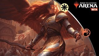 Download Red/White Boros Angels in Bo3 - MTG Arena Gameplay and Deck Guide Video