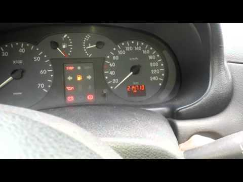 Dashboard testing   RENAULT CLIO MK2 phase1