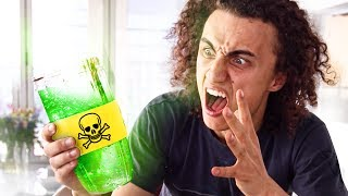 2 PEOPLE DIED DRINKING THIS SMOOTHIE! (Smoothie Challenge)