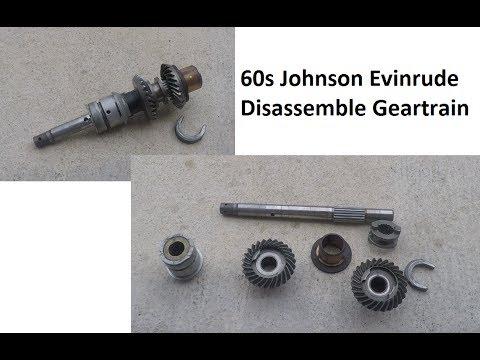 Disassemble Johnson Evinrude Lower Unit Gears