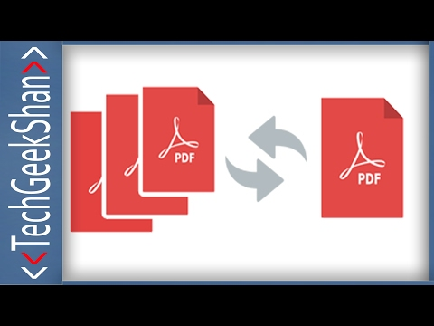Merge Different PDF File Pages into Single PDF File | Online