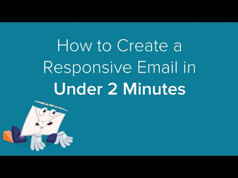 How to create a responsive email in under 2 minutes