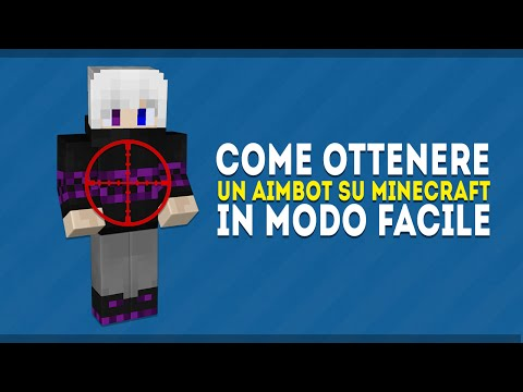 [60 FPS] COME OTTENERE UN AIMBOT PERFETTO SU MINECRAFT! ✓ HOW TO GET A PERFECT AIMBOT ON MINECRAFT!