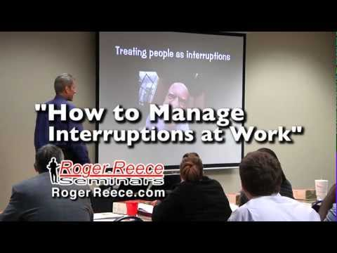 Manage Interruptions -- Time Management Tool