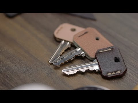 DIY Leather Key Cover