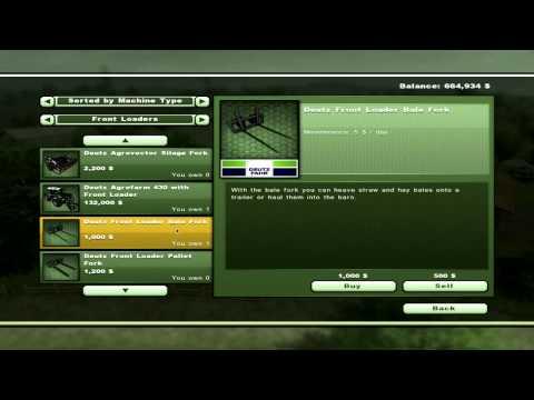 Farming Simulator 2013 - How to Bail Straw