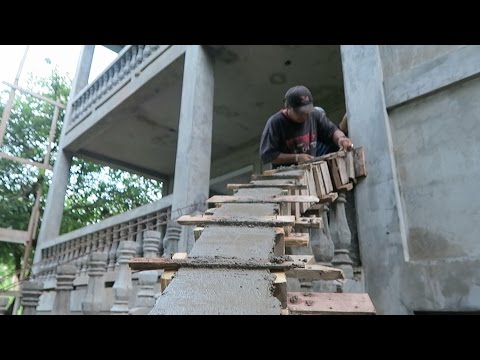 CONCRETE ART & THE FRONT STAIRS