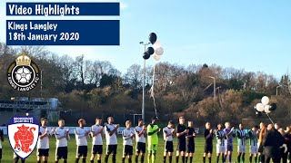 HIGHLIGHTS Kings Langley 3 1 Bromsgrove Sporting