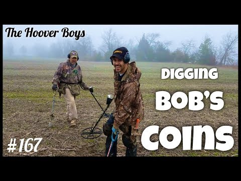 Multiple Coin Spills! Metal Detecting the Weird Crazy Hard to Find Coins! Bob's Coins