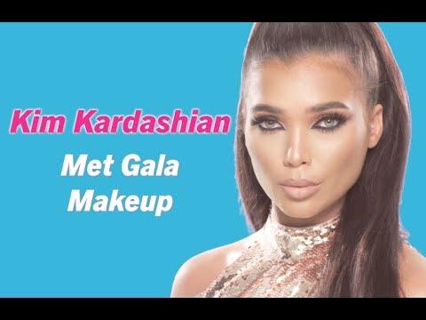 HOW TO | Kim Kardashian Met Gala Makeup | Get the look