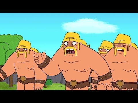 Clash-A-Rama! The Series: Ballad of the Barbarian