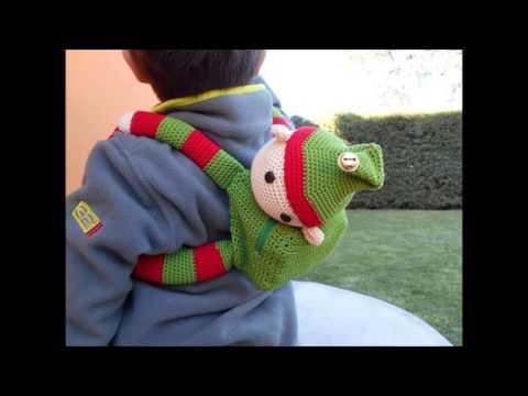 crochet curtain tie backs